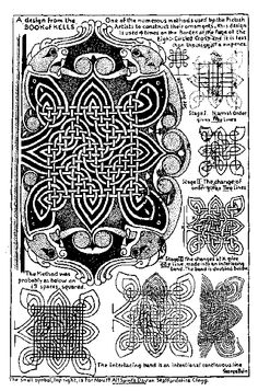 Celtic Knots - how to Celtic Symbols, Celtic Art, Celtic Knots, Calligraphy Tutorial, Art Ancien, Celtic Mythology, Book Of Kells, Celtic Designs, Ink Illustrations