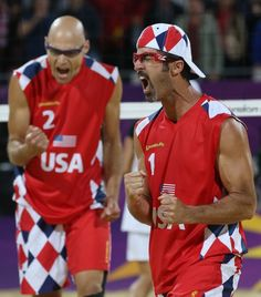 Phil Dalhausser and Todd Rogers