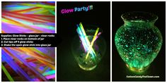 Birthday Party Invitation Startling Ideas For Glow In The Dark ...