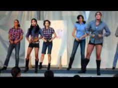 ZUMBA CLASS - cotton eyed joe - choreography has some good ideas