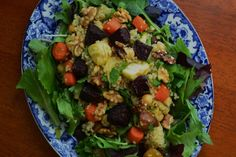 Nourish The Roots: Roasted Root Vegetable and Quinoa Salad