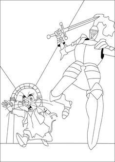 Dibujos para Colorear El valiente Despereaux 1