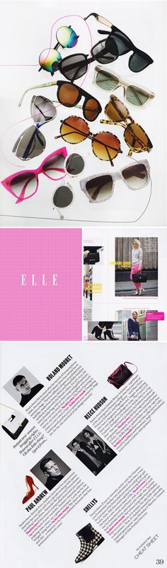 The Typofiles #131: Elle UK Accessories