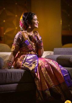 Best Wedding Hairstyles, Bridal Hairstyle, 3d Wallpaper Home, Bridal Beauty, On Your Wedding Day, Chennai, Hair Designs, Design Ideas, Sari