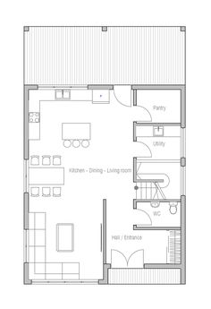 Ideal House Layout house design house-plan-ch398 10 | krikans hus | pinterest | house
