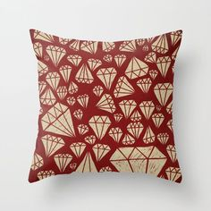 Buy diamond Throw Pillow by landonsheely. Worldwide shipping available at Society6.com. Just one of millions of high quality products available.