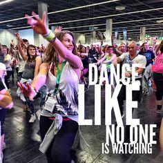 Dance like no one is watching #zumba