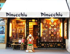 Pinocchio store in Vienna Austria - icoSnap: A cute travel blog