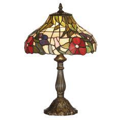 Oaks OT 1345/12 TL Peonies 1 Light Tiffany Table Lamp http://www.scotlightdirect.co.uk/oaks-ot-1345-12-tl-peonies-1/p3435