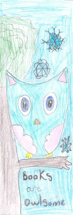 """""""Books Are Owlsome"""" by Patty J. 
