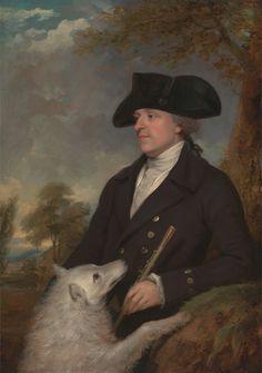 Francis Wheatley, 1747–1801, British, Captain Stevens, ca. 1795, Oil on canvas, Yale Center for British Art, Paul Mellon Collection