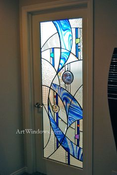 Huntington Story Bath Art Windows by Rick Streitfeld
