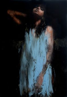 wilderness no2, oil on board Mark Demsteader