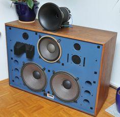 400Hz Horn JBL 4530 + TAD 4001