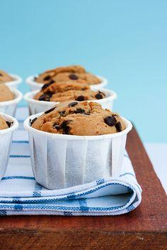 La ciliegina sulla torta: Chocolate chip muffins
