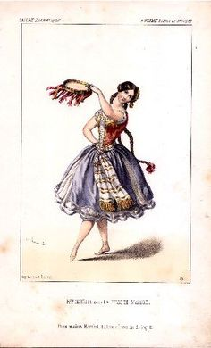 Mme Cerrito dans La fille de marbre