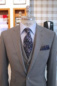 Simple, clean and looks awesome! For most men I wouldn't take vest with lapels (if it's plain one color three piece),,,