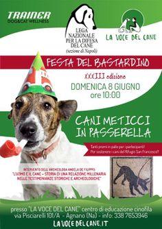 8/6 Agnano #Napoli: la Sezione locale organizza 23a edizione della Festa del #Bastardino - #LegadelCane