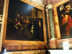Rome City Center: Exploring Free Art Masterpieces in Churches Rome City, Rome Travel, Caravaggio, Exploring, Museum, Italy, Tours, San, Spaces