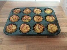 Lecker Kartoffel Muffins ~ Rosen Einfach und so genial Zutaten: 1,5 Kg Kartoffeln 100g Butter 1 TL Thymian 30g Pa...