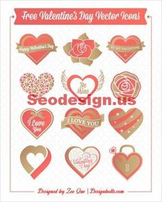 Free Vector Red Heart Icon Graphics Design #vector #heart #icon #graphics