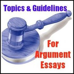 Argumentative essay topics for college