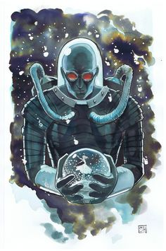 DC Universe. Mr.Freeze   Credits to the artist