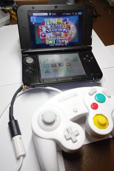 Play games on 3DS using a GameCube controller! #Atmel #Arduino #Nintendo #Makers #DIY