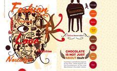 Max Brenner, good chocolate, unique website
