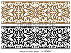http://thumb101.shutterstock.com/display_pic_with_logo/322090/143524807/stock-vector-abstract-arabic-ornament-in-two-colors-for-design-and-ornate-jpeg-version-also-available-in-143524807.jpg