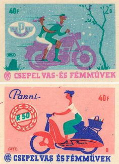 """""""Matchbox labels offered the perfect canvas for efficient, modern advertising.""""Jane McDevitt discovered the beauty of vintage matchboxes via..."""