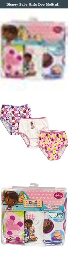 Disney Baby Girls Doc McStuffins 3 Pack Underwear (4T). Disney Baby Girls Doc McStuffins 3 Pack Underwear are rolled up and ready to go. Just what the doctor ordered! Fix up her underwear collection with this cute pack of Doc McStuffins panties.