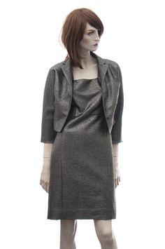 MARC JACOBS stříbrný kostým s hedvábím Pc 53t.36 - Novinky   Nana-Vogue   značkový outlet