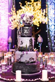 Harry Potter | 19 Spectacularly Nerdy Wedding Cakes