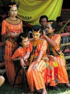 """Toraja girls. The Toraja are an ethnic group indigenous to a mountainous region of South Sulawesi (Sulawesi Selatan Province), Indonesia. Their population is approximately 650,000, of which 450,000 still live in the regency of Tana Toraja (""""Land of Toraja""""). Most of the population is Christian or have local animist beliefs known as aluk (""""the way""""). The Indonesian government has recognized this animist belief as Aluk To Dolo (""""Way of the Ancestors"""")."""