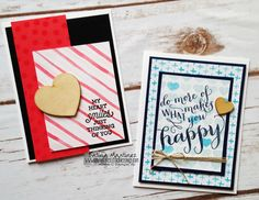 Project Life Memories In The Making by Stampin' Up - How to create greeting cards with your Project Life Cards - Katina Martinez