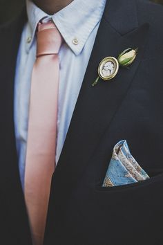 Boutonniere with photos