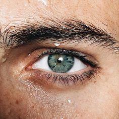 Pretty Eyes, Beautiful Eyes, Green Eyes, Blue Eyes, Green Hair, Blue Green, Aesthetic Eyes, Nature Aesthetic, The Dark Artifices