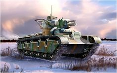 Panzer V' KwK L-24 de 75mm KwK + L-45 de 37mm. Neubau-Fahrzeug Nr. 1