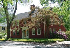 Antique Salt-Box House, Kennebunkport,Maine