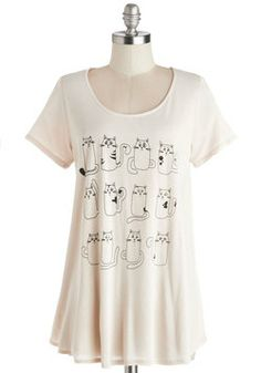 Emoti-cats Tee, ModCloth