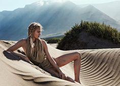 Xavi Gordo Eyes Isabel Scholten's Desert Beauty For Glamour Italy July 2017