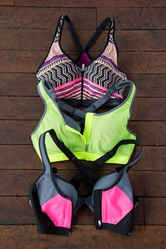 Maximum support. Tons of options. What's not to love? | Victoria's Secret Sport Knockout Front-Close Sport Bra