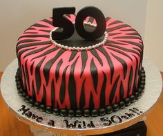 50th red and black birthday cakes 50th Birthday Cakes Ideas
