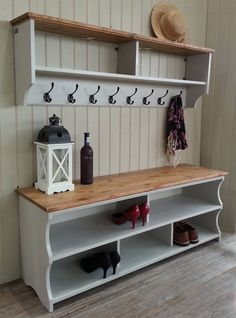 This listing exists as a place holder for a discount when a hall bench and coat rack are bought together as a set.  *** PLEASE DO NOT BUY THIS LISTING - SEE BELOW ***  *** The discount code is BENCHANDCOAT2017 *** You can choose any style of coat rack and hall bench combination, in any size, and get a 10% discount on the pair when you buy the two together as long as the total price, excluding shipping, is over £250.  Add your choices to your basket and then use the discount code…