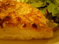 -Dish-trict: Quick Dish: Macadamia Nut Crusted Halibut