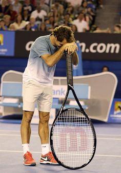 So Federer has chosen a bigger head racquet...? :)