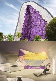 15 Amazing Future World Architecture that We Cannot Wait to See- at Dzzyn.com Amethyst Hotel