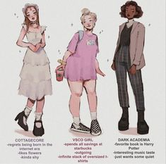 Different aesthetics part choose ur fighter ✊🏻✊🏻✊🏻 (if you dress anything like dark academia and ur single contact me pls :*) . Clothing Sketches, Fashion Sketches, Art Drawings Sketches, Cute Drawings, Character Design Inspiration, Mode Inspiration, Aesthetic Art, Aesthetic Clothes, Character Outfits