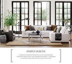 Simply Serene Furniture Collection | Williams-Sonoma Home | Williams-Sonoma